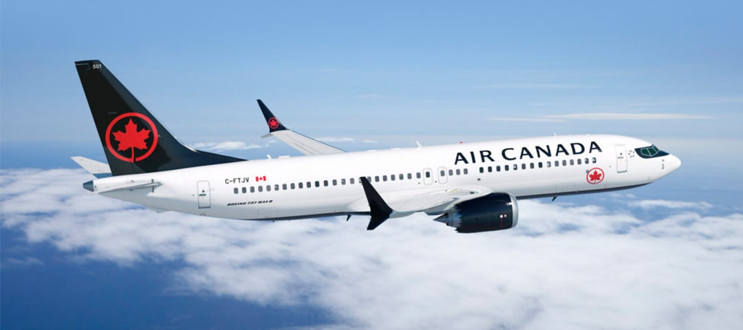 Air Canada business class flights