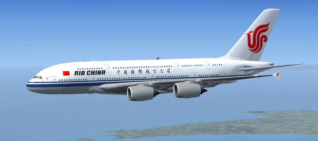 Air China business class flights