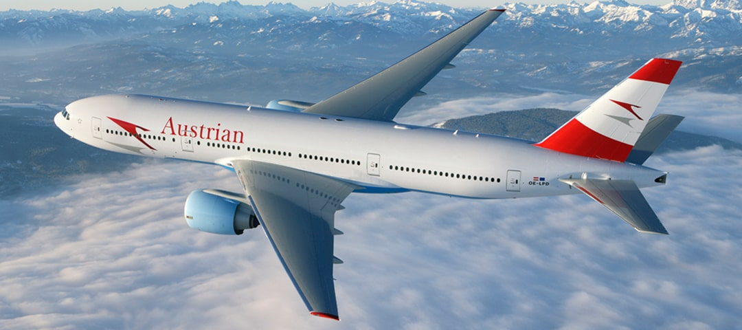 Austrian Airlines business class flights
