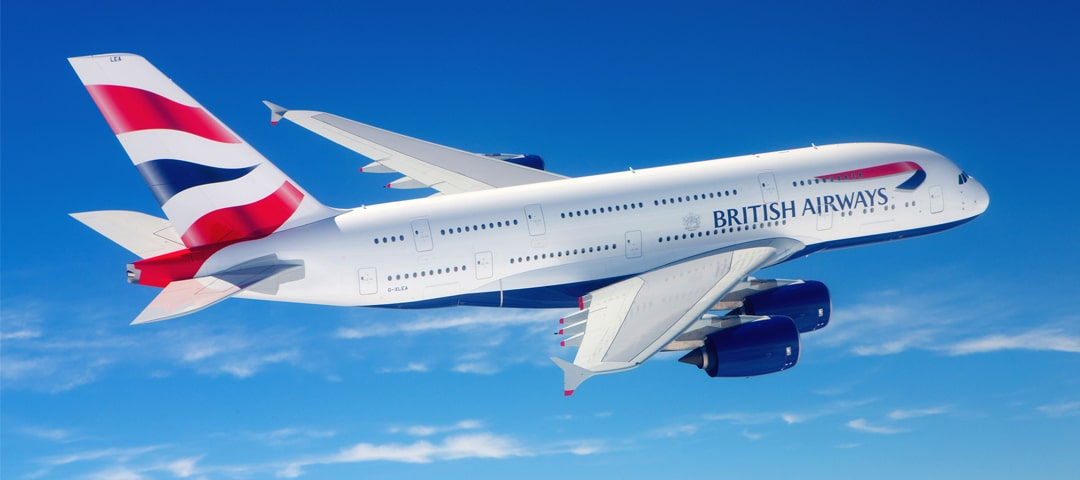 British Airways business class flights