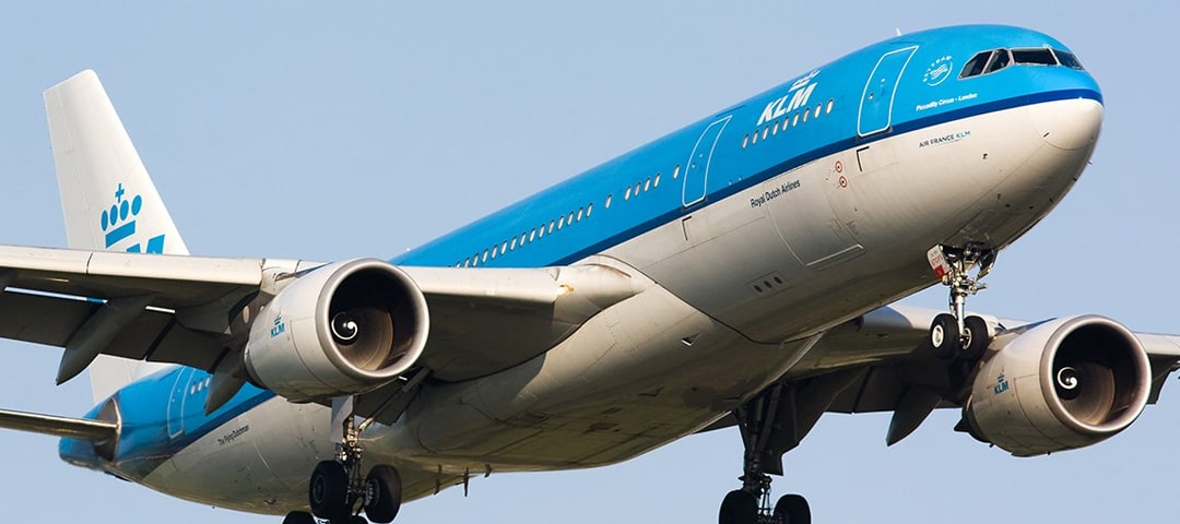 KLM business class flights