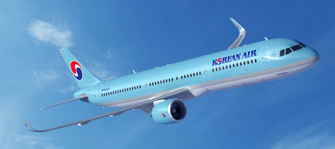 Korean Air business class flights