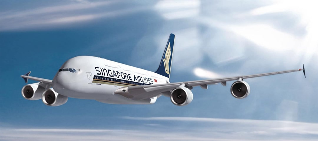 Singapore Airlines business class flights