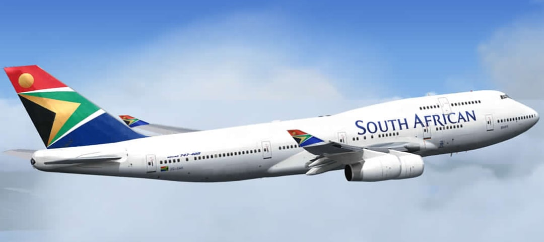 South African Airways business class flights